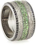 Stephen Webster Mens Sapphire & Tsavorite Ring - Lyst