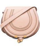 Chloé Small Marcie Saddle Bag - Lyst