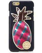 Tory Burch Robinson Pineapple Hardshell Case For Iphone 6 - Lyst