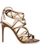 Alexandre Birman Strappy Sandals - Lyst