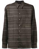 Christophe Lemaire Convert Pattern Shirt - Lyst