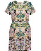 Mary Katrantzou Printed Silk Jersey Dress - Lyst