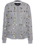 By Malene Birger Prospera Embellished Bomber Jacket - Lyst