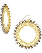 Nakamol Beaded Spiral-Wire Earrings - Lyst