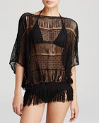 Trina Turk French Lace Swim Cover Up Tunic - Lyst