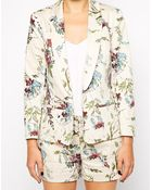 Oasis Wisteria Floral Jacket - Lyst