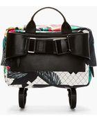 3.1 Phillip Lim Navy Tropical Print Oversize Messenger Bag - Lyst
