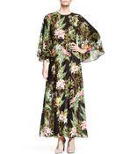 Etoile Isabel Marant Wanda Printed Cotton Dress - Lyst