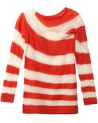 Acne Studios Oil Stripe Mohairblend Sweater - Lyst