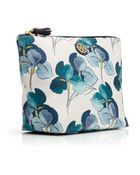 Tory Burch Printed Large Trapeze Cosmetic Case - Lyst