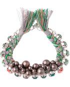 Joomi Lim Crystal Braided Bracelet - Lyst