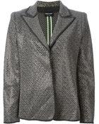 Giorgio Armani Tweed Blazer - Lyst