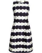 Mother Of Pearl Taliah Printed Cotton And Silk-Blend Dress - Lyst