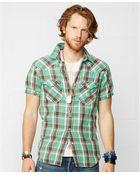 Denim & Supply Ralph Lauren Lee Plaid Cowboy Shirt - Lyst