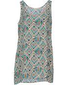 American Vintage Short Dress - Lyst