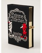 Olympia Le-Tan 'Grimms Märchen' Book Clutch - Lyst