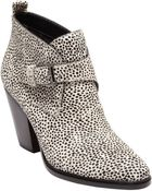 Dolce Vita Calf Hair Helenna Ankle Boots - Lyst