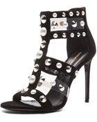 Nicholas Kirkwood Suede Pearls & Studs Heels - Lyst