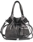 Lancel Premier Flirt Metallic Bucket Bag - Lyst