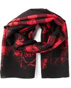 McQ by Alexander McQueen Checked Scarf - Lyst