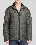 Tumi 3d Quilted Lightweight Puffer Jacket - Lyst