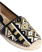 Sam Edelman 'Lida' Beaded Calf Hair Espadrilles - Lyst