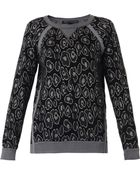 Marc By Marc Jacobs Cassidy Leopard-Intarsia Sweater - Lyst