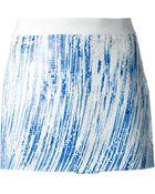 Kenzo Sequined Mini Skirt - Lyst