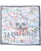Alexander McQueen Square Scarf - Lyst
