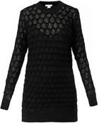 Helmut Lang Corded Lace-Knit Sweater - Lyst