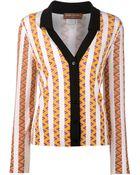 Duro Olowu Striped Zigzag Print Blouse - Lyst