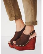 Jeffrey Campbell Womens Olivia Wedge - Lyst