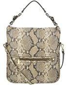 Nine West Nolita Leather Hobo Bag - Lyst