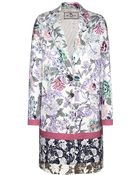 Etro Printed Cotton-Blend Coat - Lyst