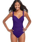 Miraclesuit Sanibel One-Piece Swimsuit - Lyst