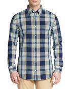 Gant Rugger Oxford Check Sportshirt - Lyst