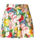 Kenzo Vintage Flower Print Shorts - Lyst