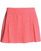 H&M Patterned Skirt - Lyst