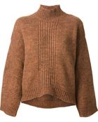 3.1 Phillip Lim Cropped Boxy Sweater - Lyst