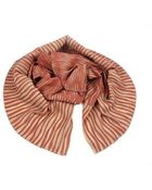 Yuh Okano Red- Butterfly Stripes Scarf - Lyst