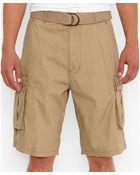 Levi's Harvest Gold Snap Cargo Shorts - Lyst