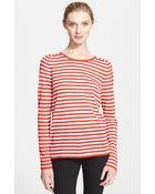 Akris Punto Stripe Knit Sweater - Lyst