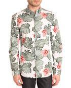 Selected Hawaiian Print Shirt - Lyst