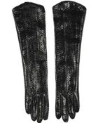 Corlette Pythona Gloves - Lyst