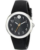 Philip Stein 36Mm Black Watch With Intergrated Strap And Sleep Box Set - Lyst