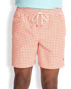 Polo Ralph Lauren Traveler Checked Swim Shorts - Lyst