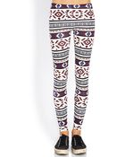 Forever 21 Out West Leggings - Lyst