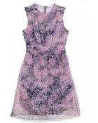 Carven Organza Printed Dress - Lyst