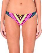 Mara Hoffman Geometric Print Bikini Briefs - Lyst