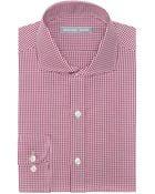 Michael Kors Classic Fit Fancy Gingham Check Dress Shirt - Lyst